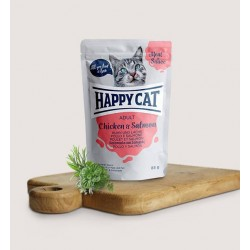 Happy Cat Vlees in Saus Kip&Zalm