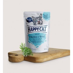Happy Cat Vlees in Saus Kip&Forel