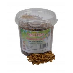 Gedroogde Nutriworms 1 Ltr.