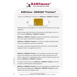 Barfmenu Energiek Premium
