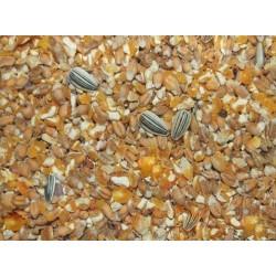 Kippenvoer gemengd graan/gebroken mais 20 kg