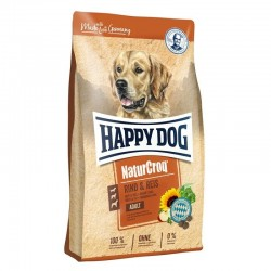Happy Dog NaturCroq Rund + Rijst