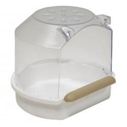 Badhuisje met zitstok